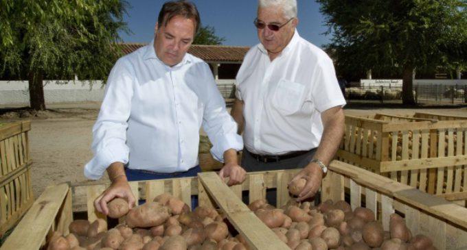 La Comunidad de Madrid entrega 37 toneladas de productos de sus huertas al Banco de Alimentos