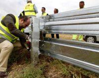 El Plan de instalación de barreras de protección para motoristas ya está ejecutado al 80%