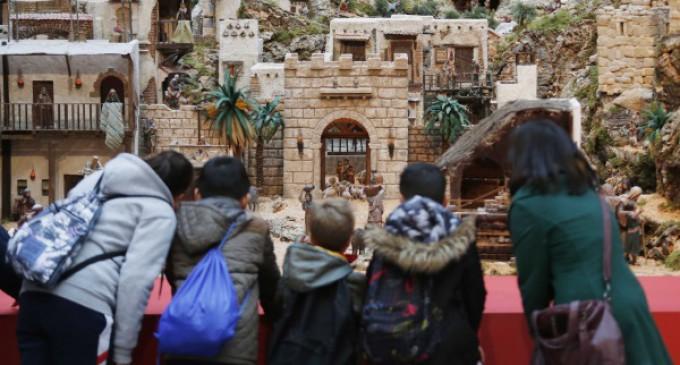 Más de 22.500 personas han visitado ya el Belén de la Real Casa de Correos