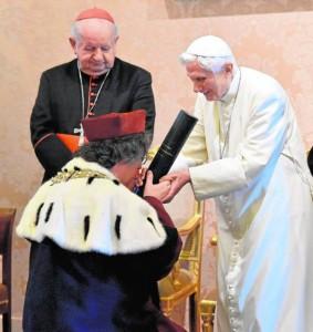 Benedicto XVI, doctorado 2