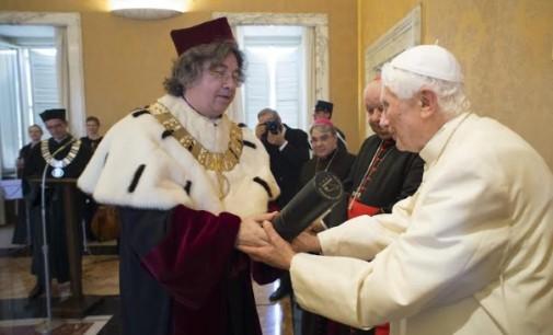Benedicto XVI, Doctor honoris causa por la Pontificia Universidad Juan Pablo II y por la Academia Musical de Cracovia