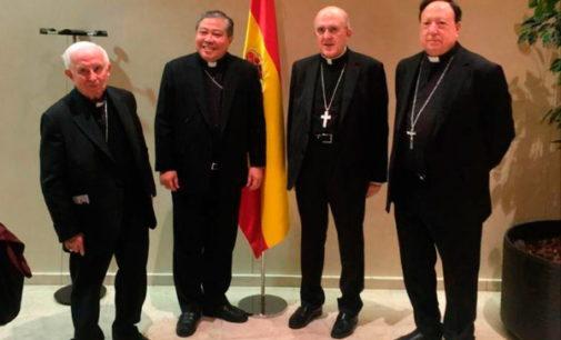 Monseñor Bernardito Auza toma posesión como nuncio apostólico en España