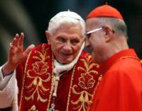 Benedicto XVI, Bertone y la alusión a la renuncia en abril de 2012