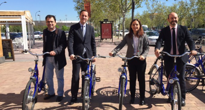 Por primera vez un servicio de alquiler de bicicleta municipal se integra en la Tarjeta de Transporte Público