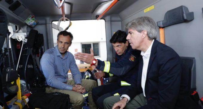 El parque de bomberos de la Comunidad en Valdemoro ya ha realizado 670 intervenciones desde su puesta en marcha