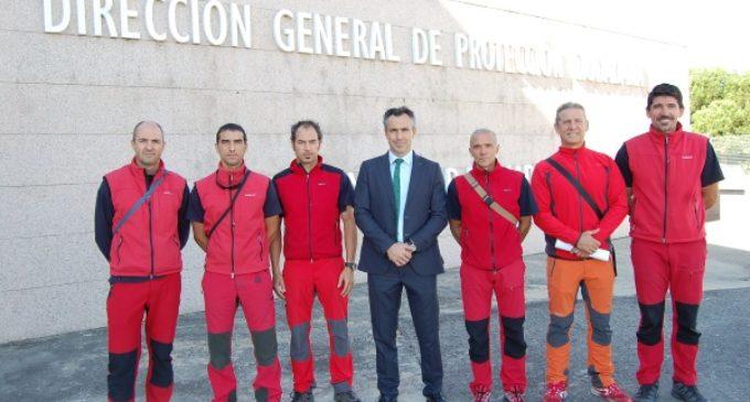 Bomberos de la Comunidad de Madrid parten hacia la sima que causó el terremoto de Lorca