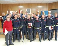 Homenaje anual a los bomberos de la Comunidad de Madrid