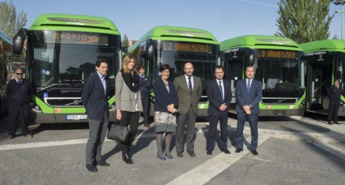 Pozuelo de Alarcón y Majadahonda disponen de 8 nuevos autobuses híbridos para el servicio público