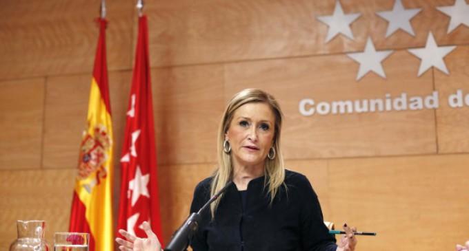 Cifuentes pone en marcha el Plan de Regeneración Democrática de la Comunidad de Madrid