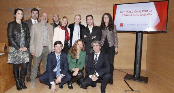 La Comunidad presenta el Pacto de la Cañada, acordado con los partidos y los ayuntamientos