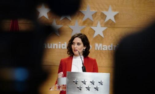 Intervención de Isabel Díaz Ayuso, presidenta de la Comunidad de Madrid, en Rueda de Prensa tras el Consejo de Gobierno