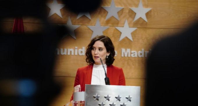 """Díaz Ayuso ofrece """"diálogo fluido"""" a Gabilondo y enumera hasta 9 contactos en un mes para informarle sobre el COVID-19"""