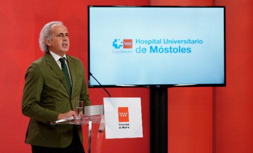 La Comunidad de Madrid invierte más de 22 millones de euros en la ampliación del Hospital público Universitario de Móstoles