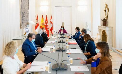 Comunicado de los presidentes de Castilla y León, Castilla-La Mancha y la Comunidad de Madrid