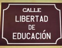 YoLibre.org pide dedicar en cada municipio una calle a la «Libertad de Educación»
