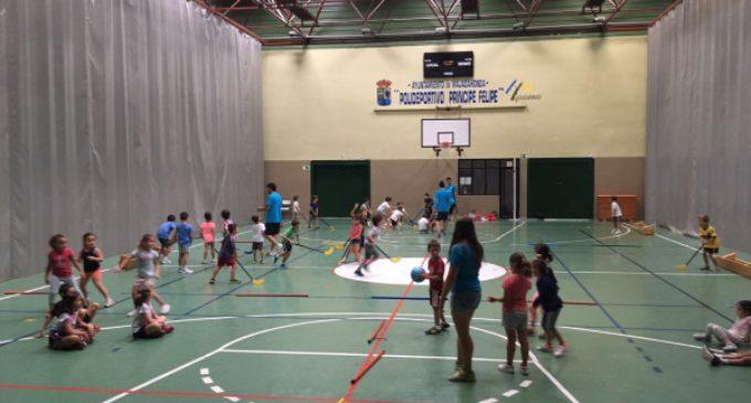 Más de setecientos niños han participado en los campamentos deportivos de verano en Majadahonda