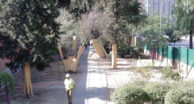 Canal de Isabel II inicia las obras de un nuevo parque en la madrileña calle de Bravo Murillo