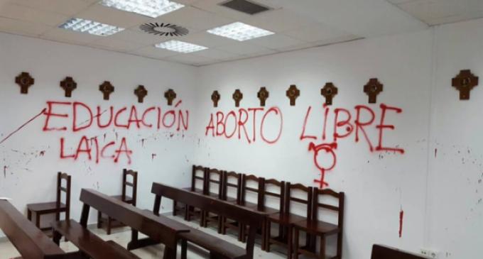 Dolor en la Iglesia madrileña tras el asalto de la capilla de la Universidad Autónoma de Madrid