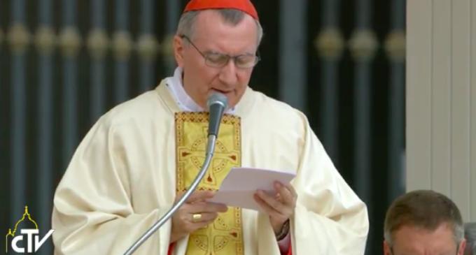 Cardenal Parolin: Madre Teresa fue espejo nítido del amor de Dios