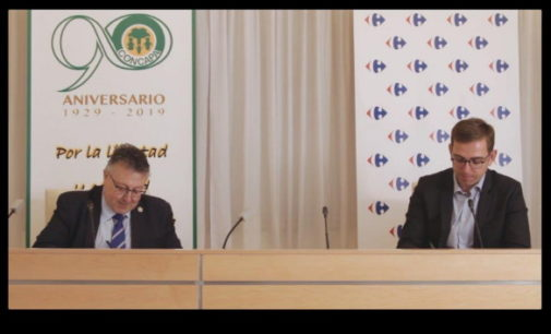 Acuerdo de colaboración entre CONCAPA y Carrefour en apoyo de los hábitos saludables de alimentación
