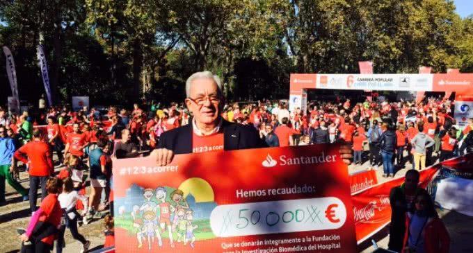 Cerca de 10.000 corredores participan en la sexta edición de la carrera popular Corre por el Niño