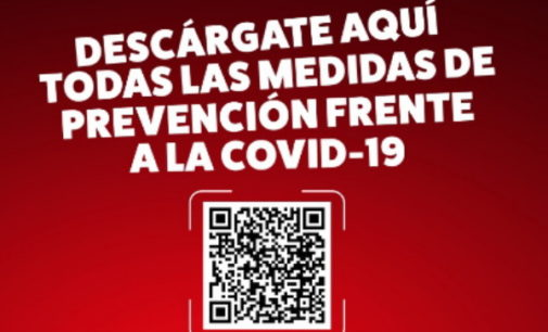 La Comunidad informa sobre medidas COVID-19 a través de código QR en cartelería para comercios, colegios o comunidades de vecinos