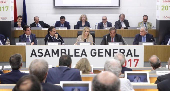 Cifuentes afirma que Madrid es una región emprendedora que lidera la creación de empresas