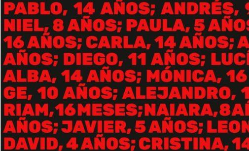 Un centenar de niños han muerto asesinados en España en los últimos 5 años