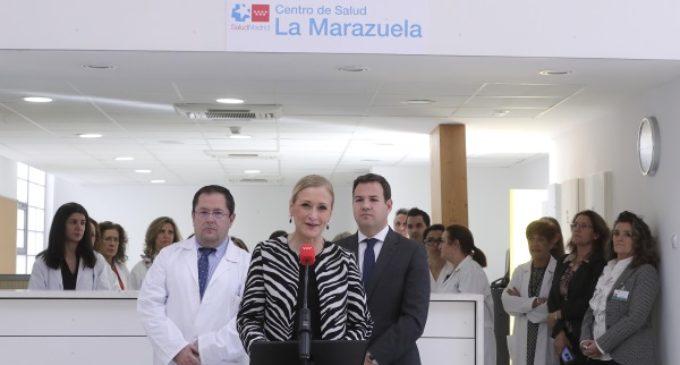 Cifuentes inaugura el nuevo Centro de Salud de La Marazuela de Las Rozas