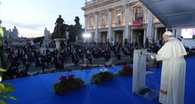 Ceremonia del Encuentro por la Paz: Discurso del Papa Francisco