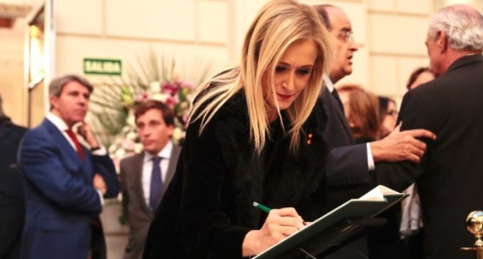 Cifuentes destaca la larga e intachable trayectoria de servicio público de José Manuel Maza