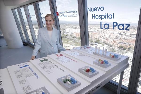 Cifuentes construir un nuevo hospital la paz que ser - Hospital materno infantil la paz ...
