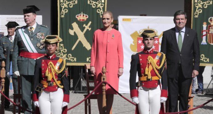 Cifuentes, en la celebración de la Patrona de la Guardia Civil que ha tenido lugar en Madrid