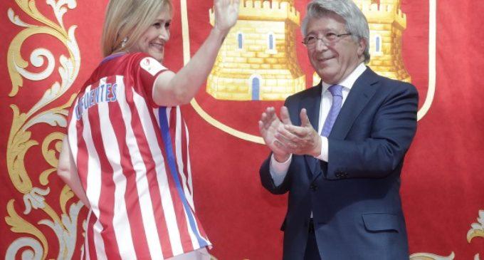 Cifuentes felicita al Atlético de Madrid Femenino tras la conquista de su primer título de Liga