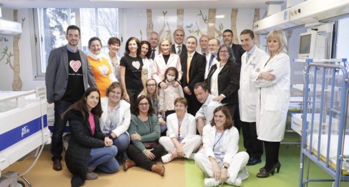 Cifuentes presenta las nuevas Urgencias Infantiles del Hospital La Paz, que aumentan su espacio un 70 %