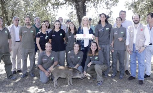 Cifuentes visita el Centro de Recuperación de Animales Silvestres (CRAS) en su séptimo aniversario