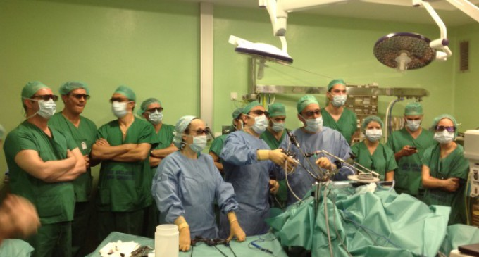 Nueva técnica quirúrgica mínimamente invasiva para el abordaje del cáncer de laringe y faringe