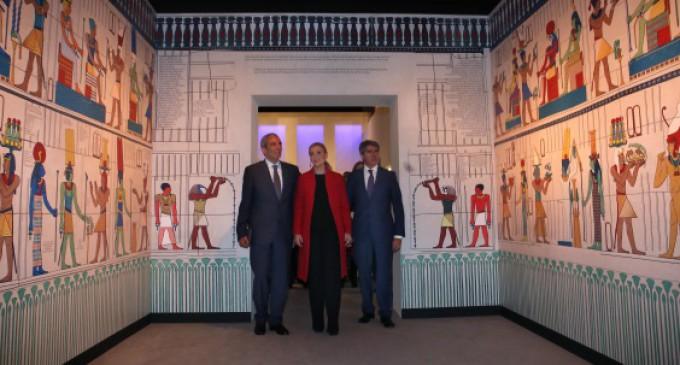 Cleopatra y la cultura egipcia protagonizan la gran exposición de Canal de Isabel II Gestión