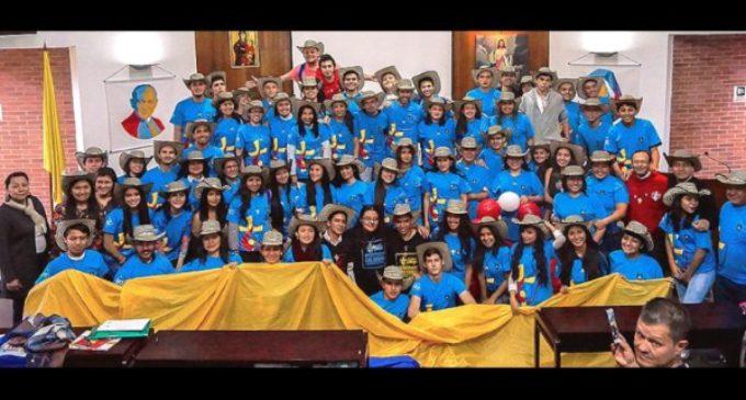 Van llegando a la JMJ de Cracovia, los jóvenes de España y Latinoamérica