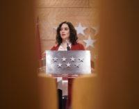 8.1.2020: Comparecencia pública de la presidenta de la Comunidad de Madrid, Isabel Díaz Ayuso