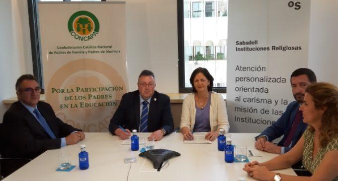 CONCAPA firma un Convenio de Colaboración con el BANCO SABADELL para beneficio de todos sus asociados y familias