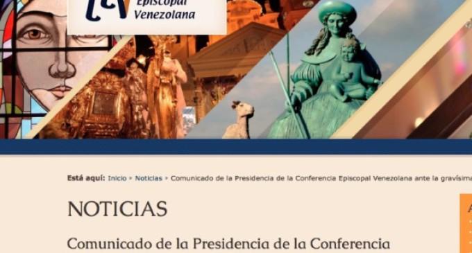 Venezuela: los obispos piden rechazar la violencia y respetar el orden institucional