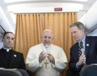 Texto completo de la conferencia de prensa del Papa en el vuelo de regreso de Fátima