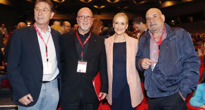 Cristina Cifuentes asiste a la clausura del XIV Congreso de UGT MADRID