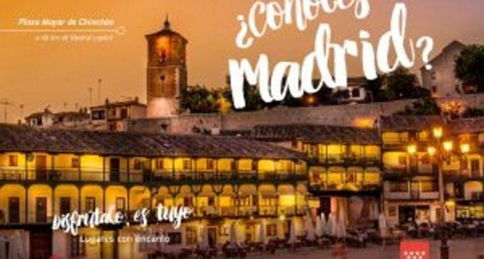 La Comunidad inicia la campaña '¿Conoces Madrid?' para aumentar la llegada de turistas a la región