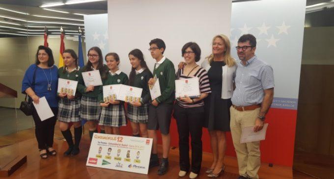 La Comunidad entrega los premios autonómicos del concurso escolar Consumópolis12
