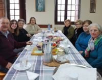 El convento vacío que ha formado una familia