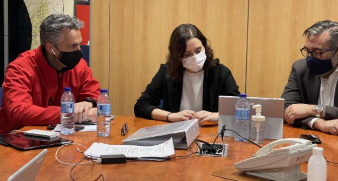 La Comunidad de Madrid crea un grupo de trabajo y coordinación que garantice suministros alimenticios, hospitalarios y energéticos