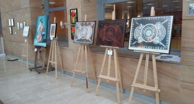 Los usuarios de los centros para personas con discapacidad intelectual de la Comunidad muestran su creatividad artística