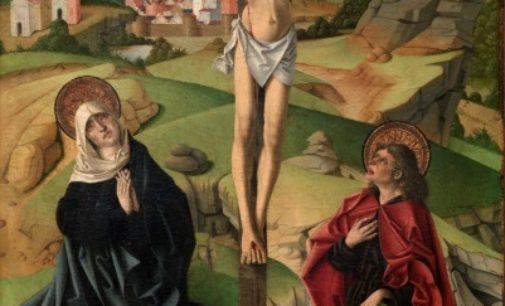 La Comunidad declara Bien de Interés Cultural la tabla de Gallego 'Cristo presentándose ante el pueblo'